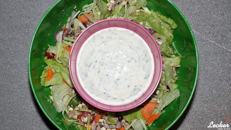 Limetten-Joghurt-Dressing