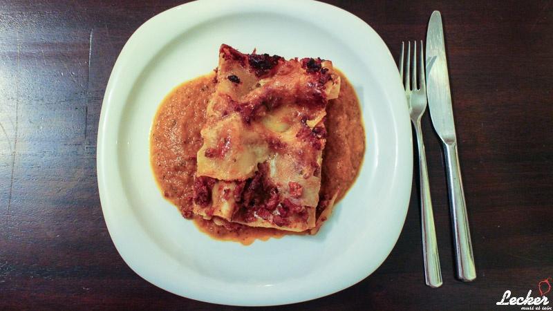 Lasagne - nicht ganz klassisch