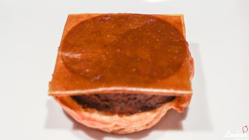 Süßer Cheese Burger