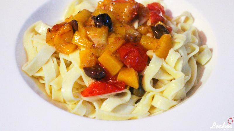 Pasta mit Mango