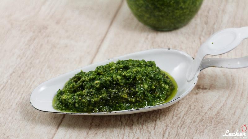 Pesto Genovese Prep & Cook
