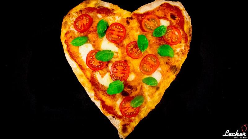 Valentinstag Pizza
