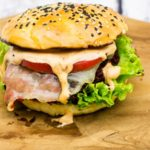 Chorizo Burger mit Manchego
