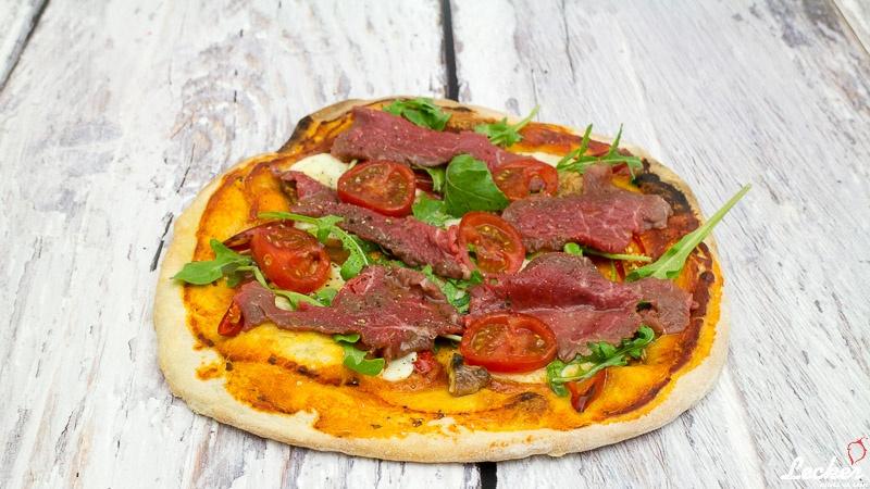Pizza Carpaccio
