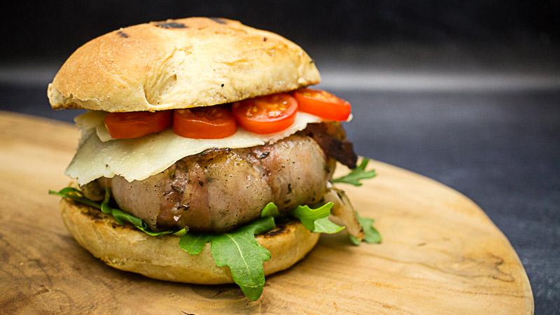 Italian Stallion Salsiccia Burger