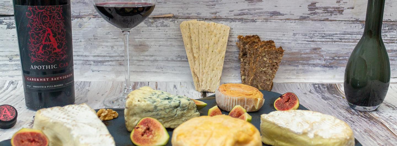 Apothic Cabernet Sauvignon Wein und Käse eine perfekte Kombination