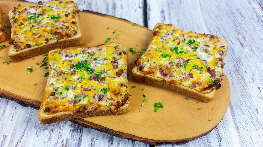 Flammkuchen Toast