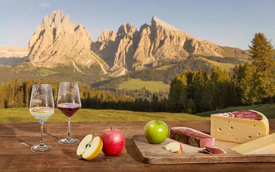 Südtirol Übersicht Produkte