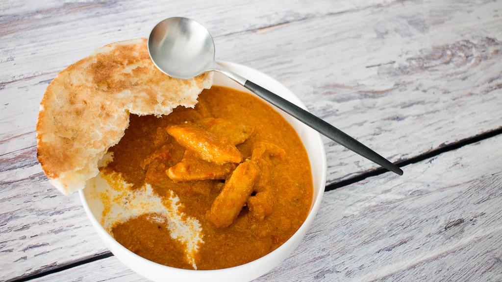 Indisches Butter Hühnchen - Indian Butter Chicken - Murgh Makhani