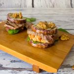 Auberginen Slider - Low Carb Burger
