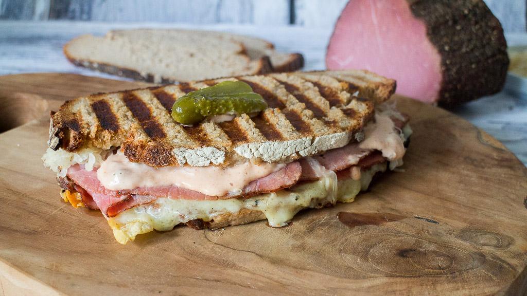 Amerikanisches Reuben Sandwich - Der große Glander Blogparade