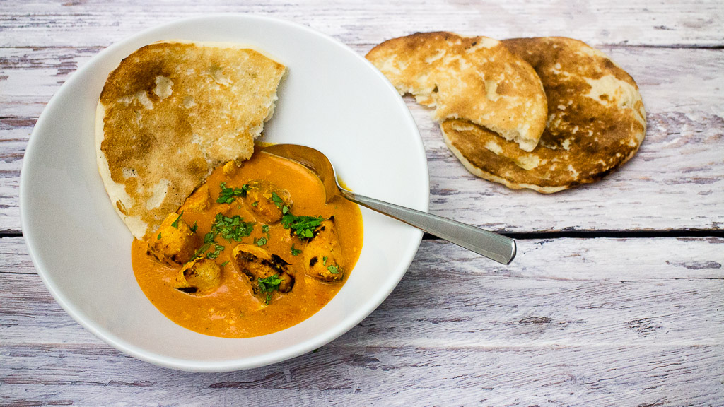Chicken Tikka Masala - Hähnchen in cremiger Tomaten-Curry-Sauce