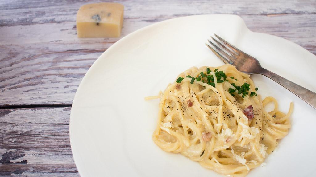 Spaghetti One Pot Carbonara